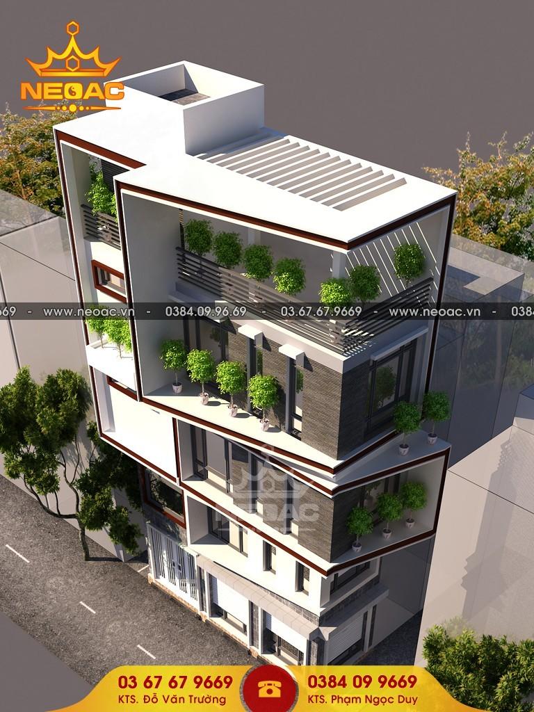Hồ sơ thiết kế mẫu nhà phố 5 tầng hiện đại tại Tây Hồ